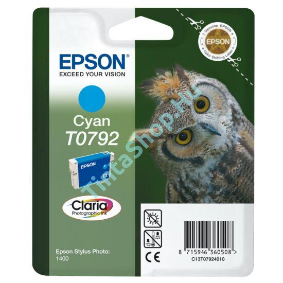 Epson T0792 CY cián (kék) (CY-Cyan) eredeti (gyári, új) tintapatron