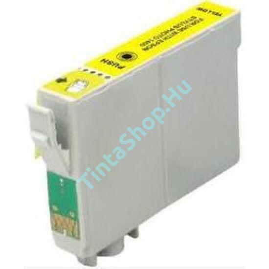 Epson T0794 YL sárga (YL-Yellow) kompatibilis (utángyártott) tintapatron