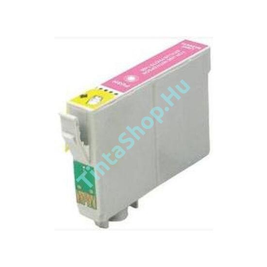 Epson T0796 LM v.bíbor (LM-Light Magenta) kompatibilis (utángyártott) tintapatron