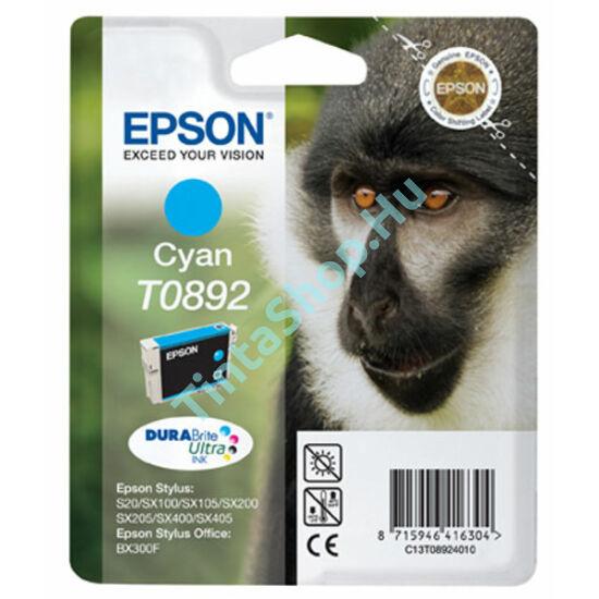 Epson T0892 CY cián (kék) (CY-Cyan) eredeti (gyári, új) tintapatron