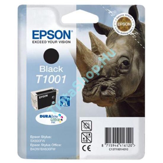 Epson T1001 BK fekete (BK-Black) eredeti (gyári, új) tintapatron