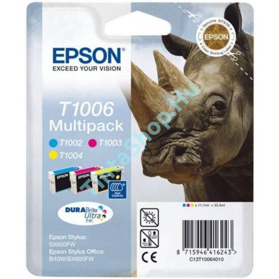 Epson T1006 (T1002,T1003,T1004) Multipack eredeti (gyári, új) tintapatron