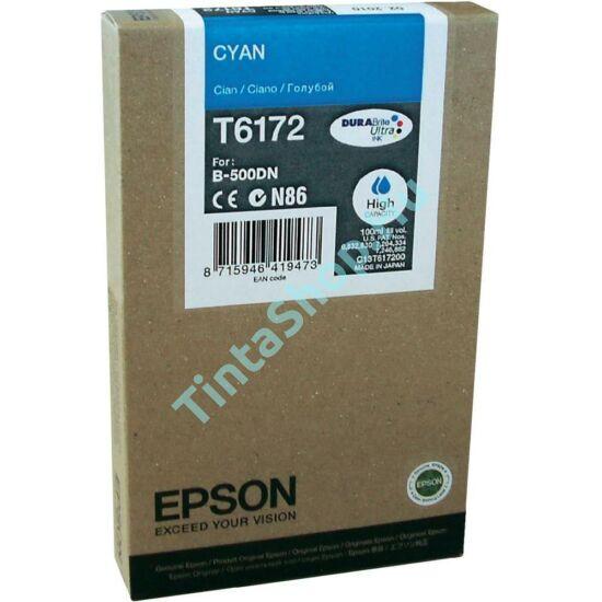 Epson T617200 CY cián (kék) (CY-Cyan) nagy kapacitású eredeti (gyári, új) tintapatron