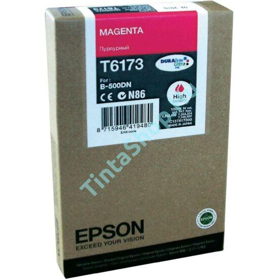 Epson T617300 MG bíbor (piros) (MG-Magenta) nagy kapacitású eredeti (gyári, új) tintapatron