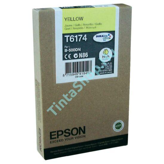 Epson T617400 YL sárga (YL-Yellow) nagy kapacitású eredeti (gyári, új) tintapatron