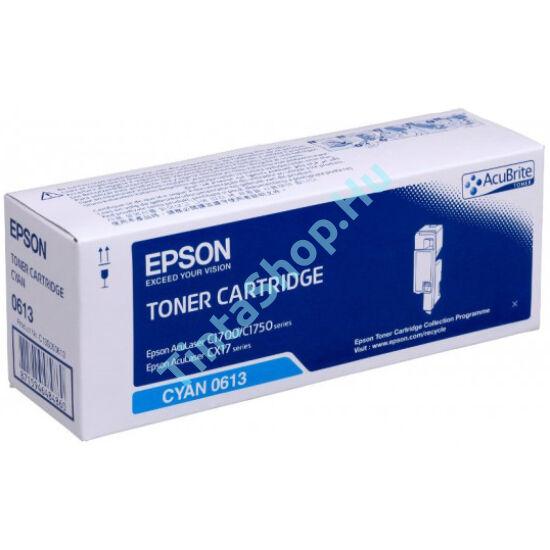 Epson S050611 (C1700) CY cián (kék) (CY-Cyan) eredeti (gyári, új) toner