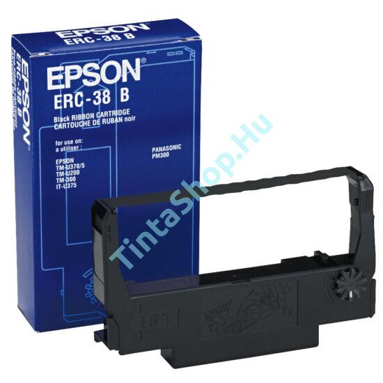 Epson ERC 38 BK fekete (BK-Black) eredeti (gyári, új) festékszalag
