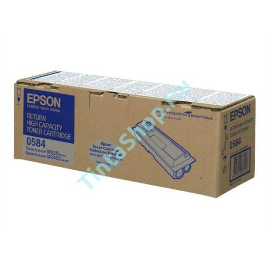 Epson S050584 (M2400 / MX20) BK fekete (BK-Black) eredeti (gyári, új) toner