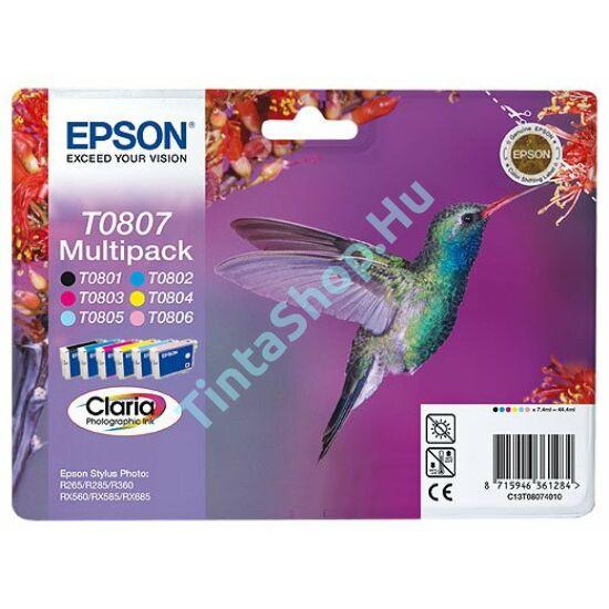 Epson T0807 Multipack eredeti (gyári, új) tintapatron
