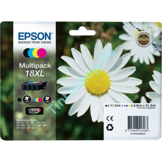 Epson T1816 (No.18 XL) Multipack eredeti (gyári, új) tintapatron