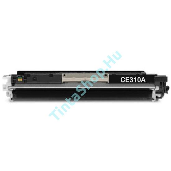 HP CE310A (No.126A) BK fekete (BK-Black) kompatibilis (utángyártott) toner