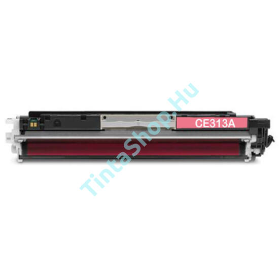 HP CE313A (No.126A) MG bíbor (piros) (MG-Magenta) kompatibilis (utángyártott) toner