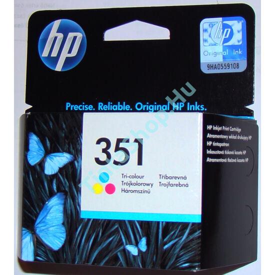 HP CB337E (No.351) C színes (C-Color) eredeti (gyári, új) tintapatron