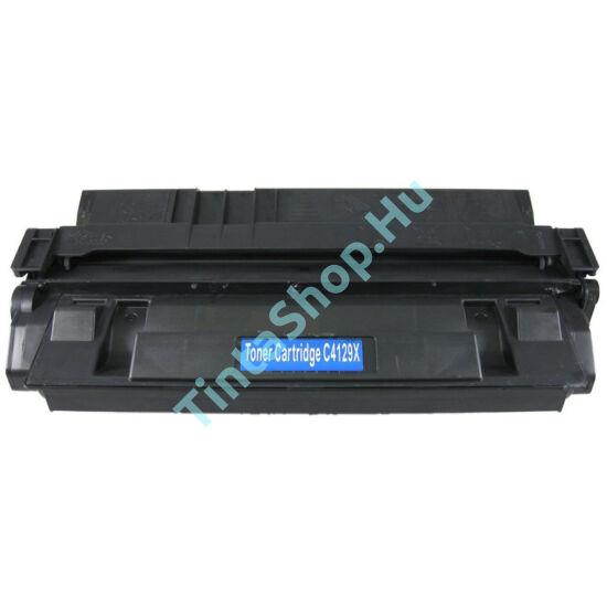 HP C4127X (No.27X) BK fekete (BK-Black) nagy kapacitású kompatibilis (utángyártott) toner