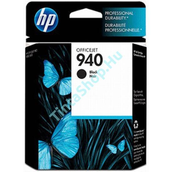 HP C4902A (No.940) BK fekete (BK-Black) eredeti (gyári, új) tintapatron