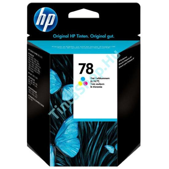 HP C6578D (No.78D) színes (C-Color) eredeti (gyári, új) tintapatron