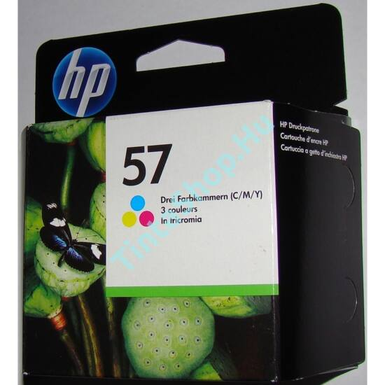 HP C6657A (No.57) színes (C-Color) eredeti (gyári, új) tintapatron