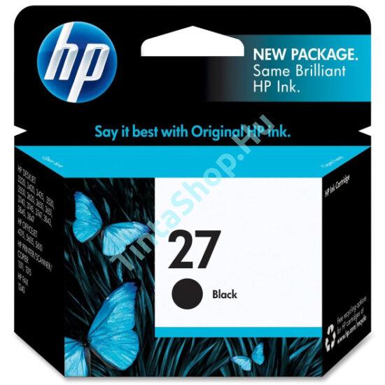 HP C8727AE (No.27) fekete (BK-Black) eredeti (gyári, új) tintapatron