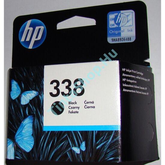 HP C8765EE (No.338) fekete (BK-Black) eredeti (gyári, új) tintapatron