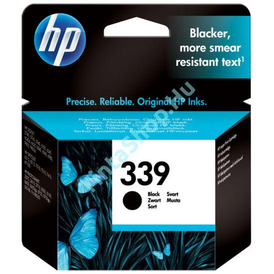 HP C8767EE (No.339) XL fekete (BK-Black) nagy kapacitású eredeti (gyári, új) tintapatron