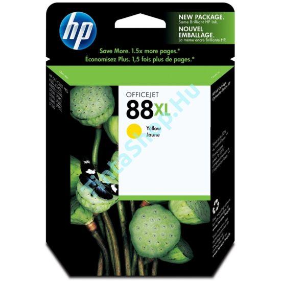 HP C9393A (No.88 XL) YL sárga (YL-Yellow) nagy kapacitású eredeti (gyári, új) tintapatron