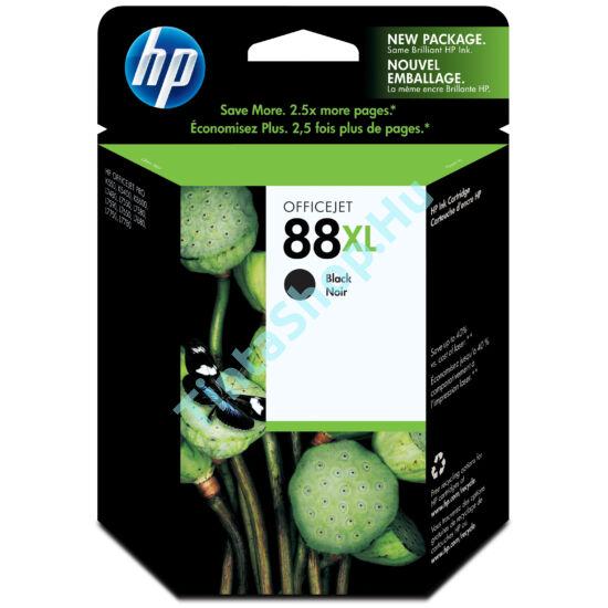 HP C9396A (No.88 XL) BK fekete (BK-Black) nagy kapacitású eredeti (gyári, új) tintapatron