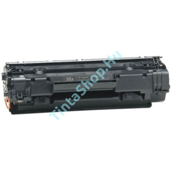 HP CB436A (No.36A) fekete (BK-Black) kompatibilis (utángyártott) toner