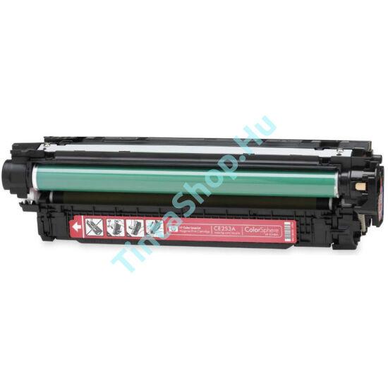 HP CE253A (No.504A) MG bíbor (piros) (MG-Magenta) kompatibilis (utángyártott) toner