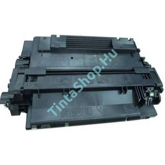 HP CE255A (No.55A) BK fekete (BK-Black) kompatibilis (utángyártott) toner