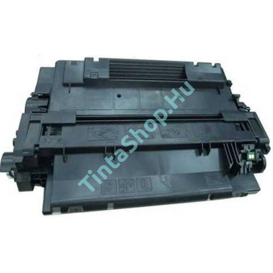 HP CE255X (No.55X) BK fekete (BK-Black) nagy kapacitású kompatibilis (utángyártott) toner
