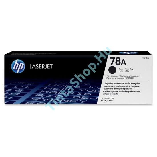 HP CE278A (No.78A) BK fekete (BK-Black) eredeti (gyári, új) toner