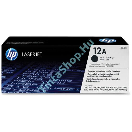 HP Q2612AD (No.12A DUPLA) BK fekete (BK-Black) eredeti (gyári, új) toner
