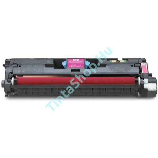 HP Q3963A (No.122A) MG bíbor (piros) (MG-Magenta) kompatibilis (utángyártott) toner