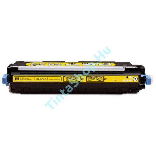 HP Q6472A (No.502A) YL sárga (YL-Yellow) kompatibilis (utángyártott) toner