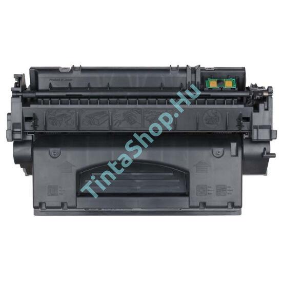 HP Q7553X (No.53X) fekete (BK-Black) nagy kapacitású kompatibilis (utángyártott) toner