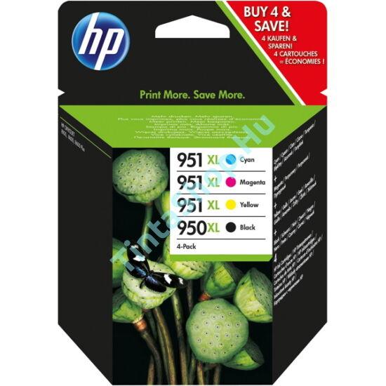 HP C2P43AE (No.950XL/951XL) Multipack fekete eredeti (gyári, új) tintapatron