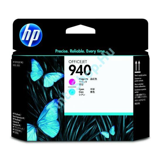 HP C4901 (No.940) CY+MG cián+magenta eredeti (gyári, új) nyomtatófej