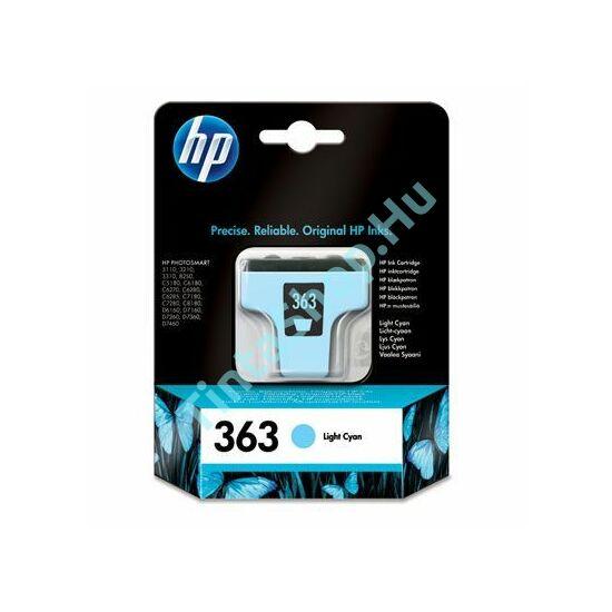 HP C8774E (No.363) LC v. cián (v. kék) (LC-Light Cyan) eredeti (gyári, új) tintapatron