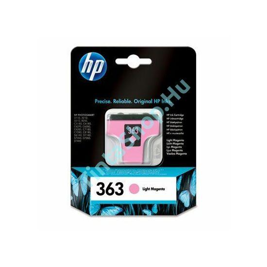 HP C8775E (No.363) PM v. bíbor (v. piros) (PM-Photo Magenta) eredeti (gyári, új) tintapatron