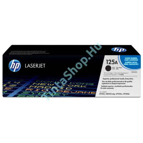 HP CB540A (No.125A) BK fekete (BK-Black) eredeti (gyári, új) toner