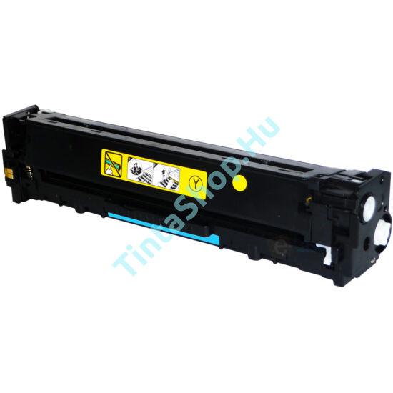 HP CB542A YL (No.125A) sárga (YL-Yellow) kompatibilis (utángyártott) toner