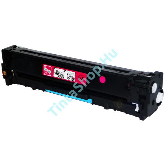 HP CB543A MG (No.125A) bíbor (piros) (MG-Magenta) kompatibilis (utángyártott) toner
