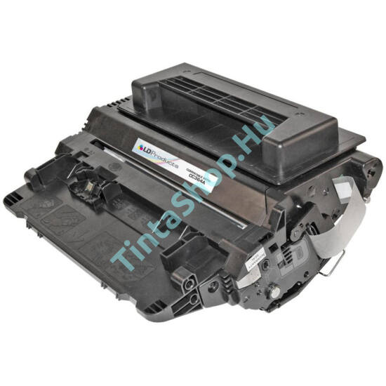 HP CC364A (No.64A) BK fekete (BK-Black) kompatibilis (utángyártott) toner