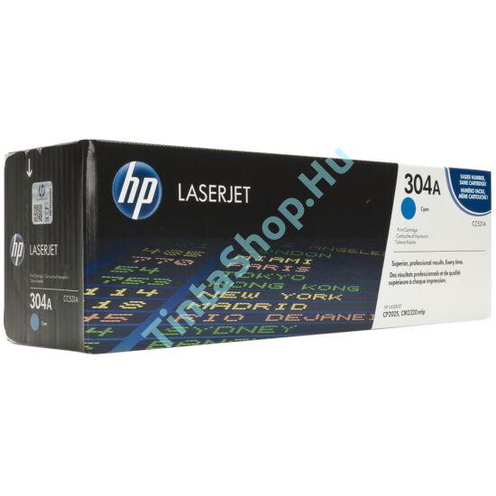 HP CC531A CY (No.304A) cián (kék) (CY-Cyan) eredeti (gyári, új) toner