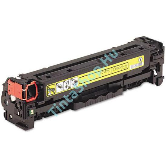HP CC532A YL (No.304A) sárga (YL-Yellow) kompatibilis (utángyártott) toner