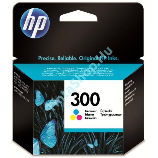 HP CC643EE (No.300 C) színes (C-Color) eredeti (gyári, új) tintapatron