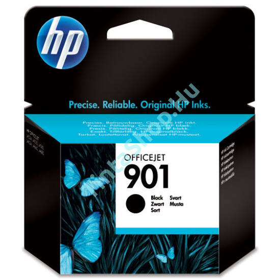 HP CC653AE (No.901) BK fekete (BK-Black) eredeti (gyári, új) tintapatron