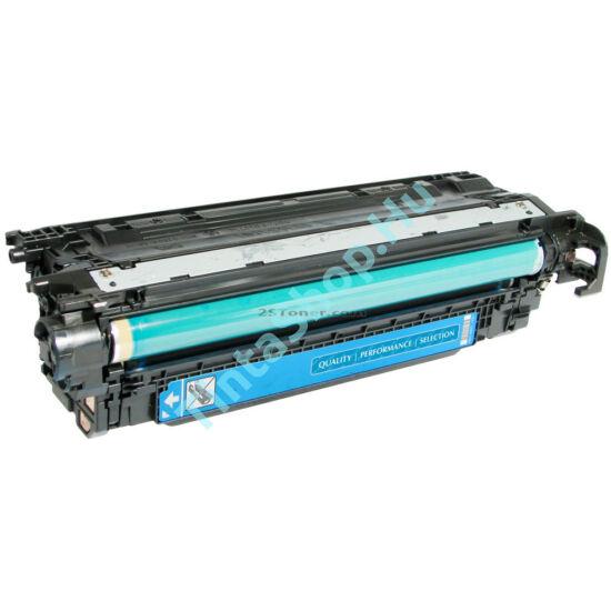 HP CE401A (No.507A) CY cián (kék) (CY-Cyan) kompatibilis (utángyártott) toner
