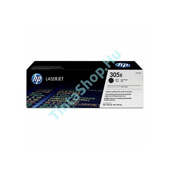 HP CE410X (No.305X) BK fekete (BK-Black) nagy kapacitású eredeti (gyári, új) toner