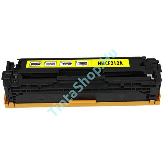 HP CF212A (No.131A) YL sárga (YL-Yellow) kompatibilis (utángyártott) toner